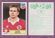 Switzerland Alain Geiger Sion 35